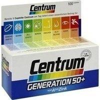 Centrum Gen.50+ A-Zink + FloraGlo Lutein Caplette, 100 St