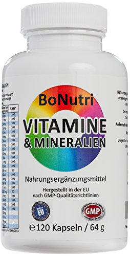BoNutri 23 Vitamine & Mineralien Mineralstoffe 120 Kapseln