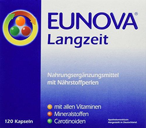 Eunova Langzeit Nahrungsergänzung, Vitamin, 1er Pack (1 x 120 Stück)
