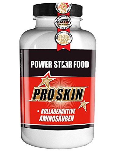 PRO SKIN, Dose 180 Kapsel, Kollagenaktive Aminosäuren Spurenelemente und Vitamine, Cellulite, Hautrisse. Arzneibuchqualität