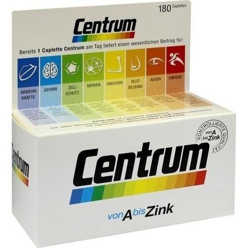 CENTRUM A-Zink+FloraGlo Lutein Caplette 180 St