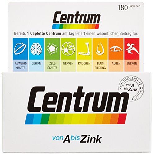 Pfizer Centrum A – Zink Capletten 180 Stück