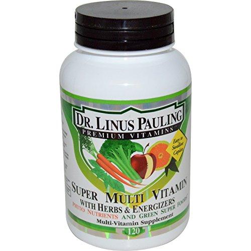 Irwin Naturals, Dr. Linus Pauling, Super-Multi-Vitamin, mit Kräutern & Energetiker, 120 Capletten