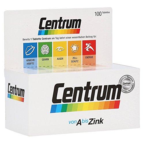 CENTRUM A-Z+Lutein Tabletten 100 St Tabletten