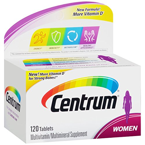 Centrum Women's Multivitamin Supplement, 120 Count by Centrum