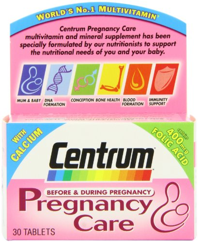 CENTRUM PREGNANCY CARE TABS 30 PACK