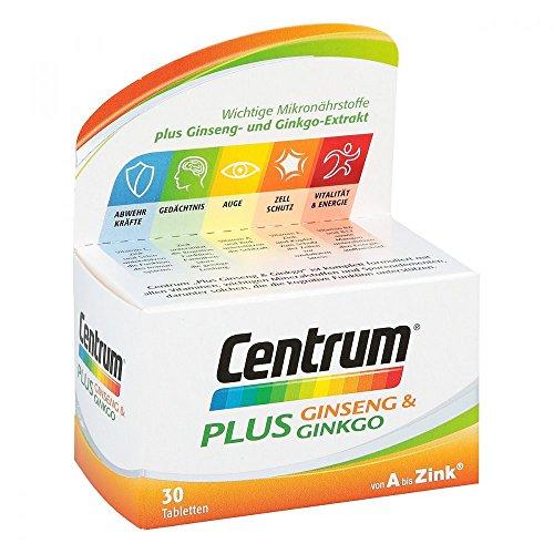 CENTRUM Plus Ginseng & Ginkgo Tabletten 30 St Tabletten