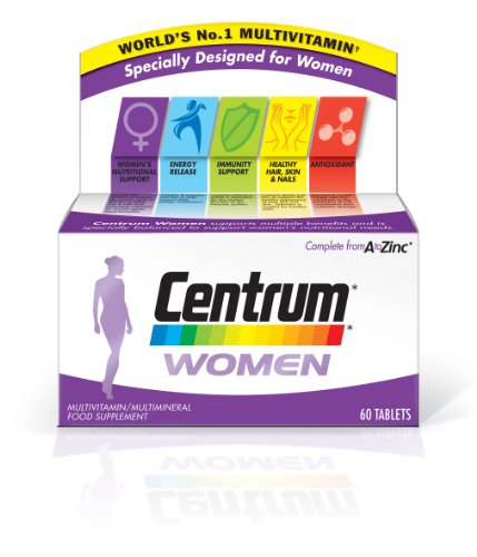 Centrum Women Supplements – Pack of 60 Tablets