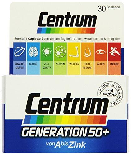 Gall Pharma Centrum Generation 50 plus Capletten, 1er Pack (1 x 30 Stück)